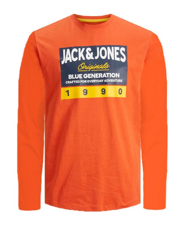 Langarmshirt von JACK & JONES JUNIOR